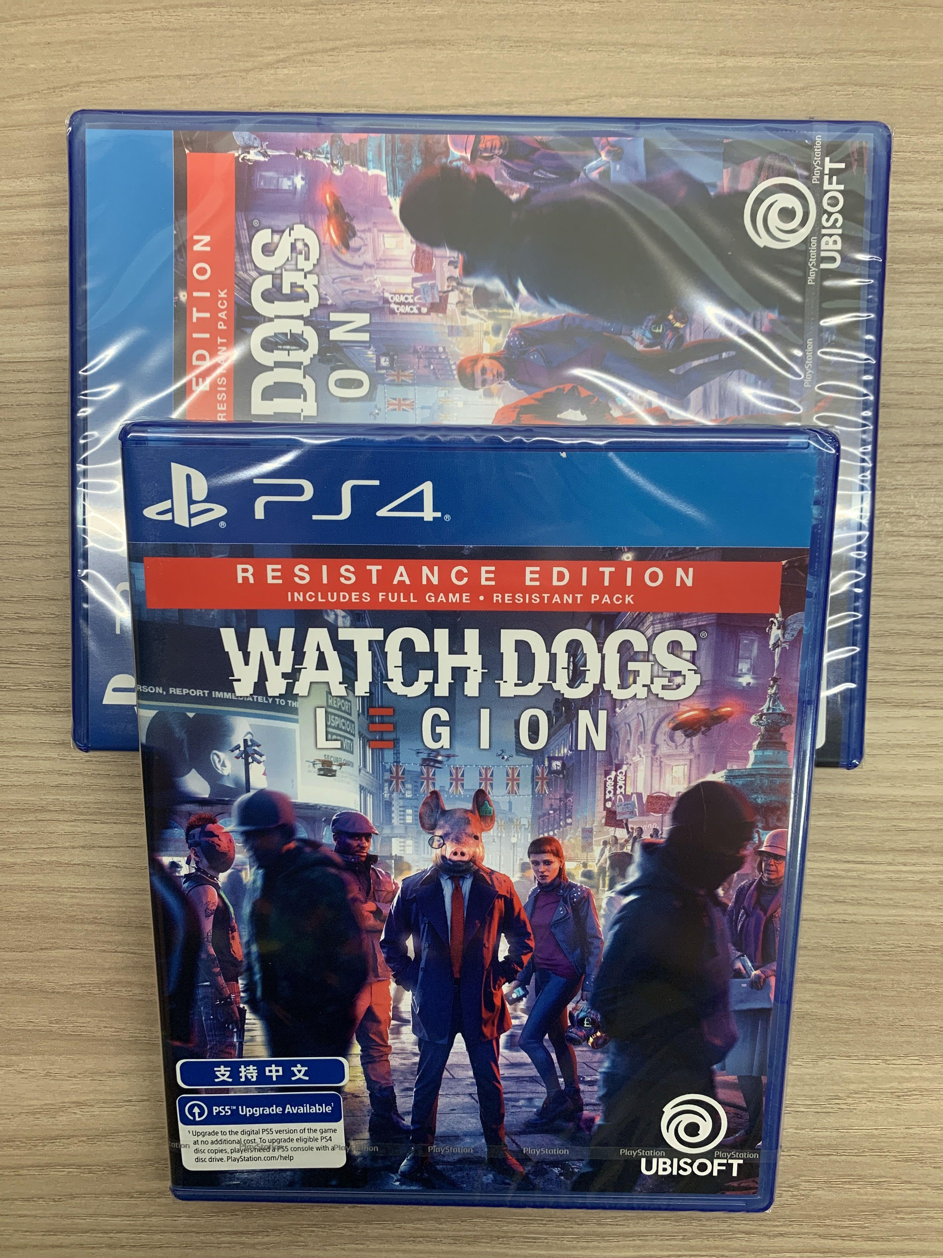 Ps4 Ps5 Game Watch Dogs Legion Toys Games Video Gaming Video Games On Carousell