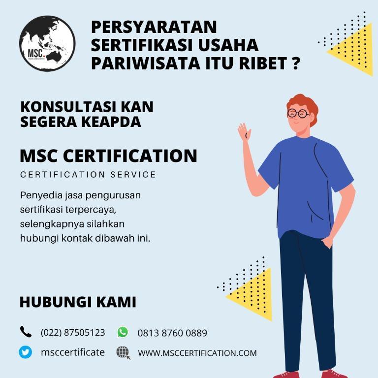 sertifikasi hotel dan restoran