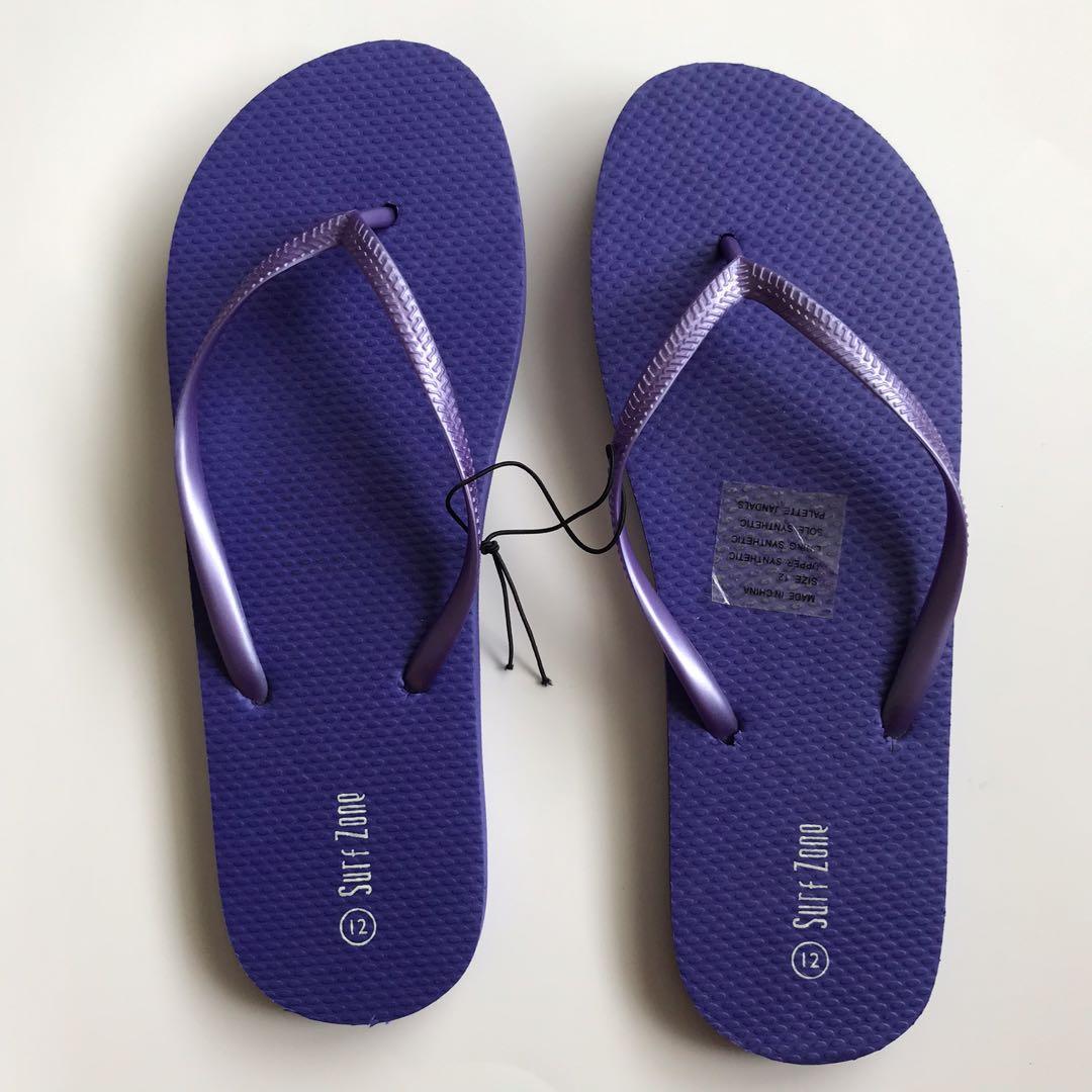 Size 12 Purple Jandals