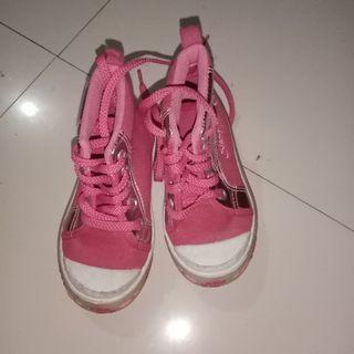 Snoopy Pink High Shoes