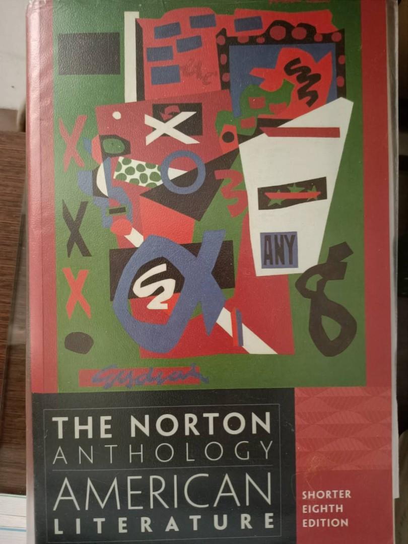 美國文學The Norton Anthology of American Literature,8th Edition