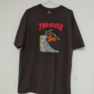 Thrasher短tee