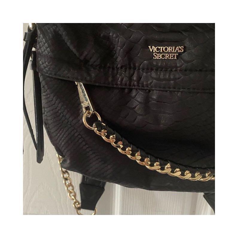Victoria's Secret backpack in gold hardware