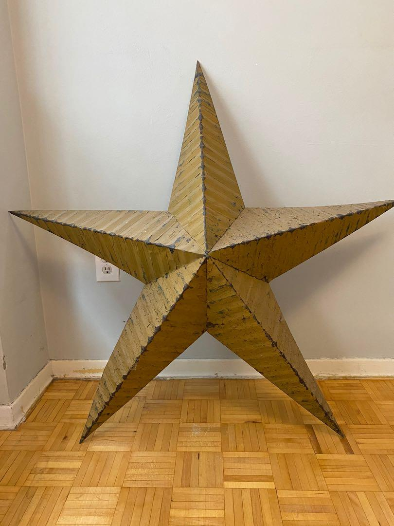 Vintage scrap metal stars