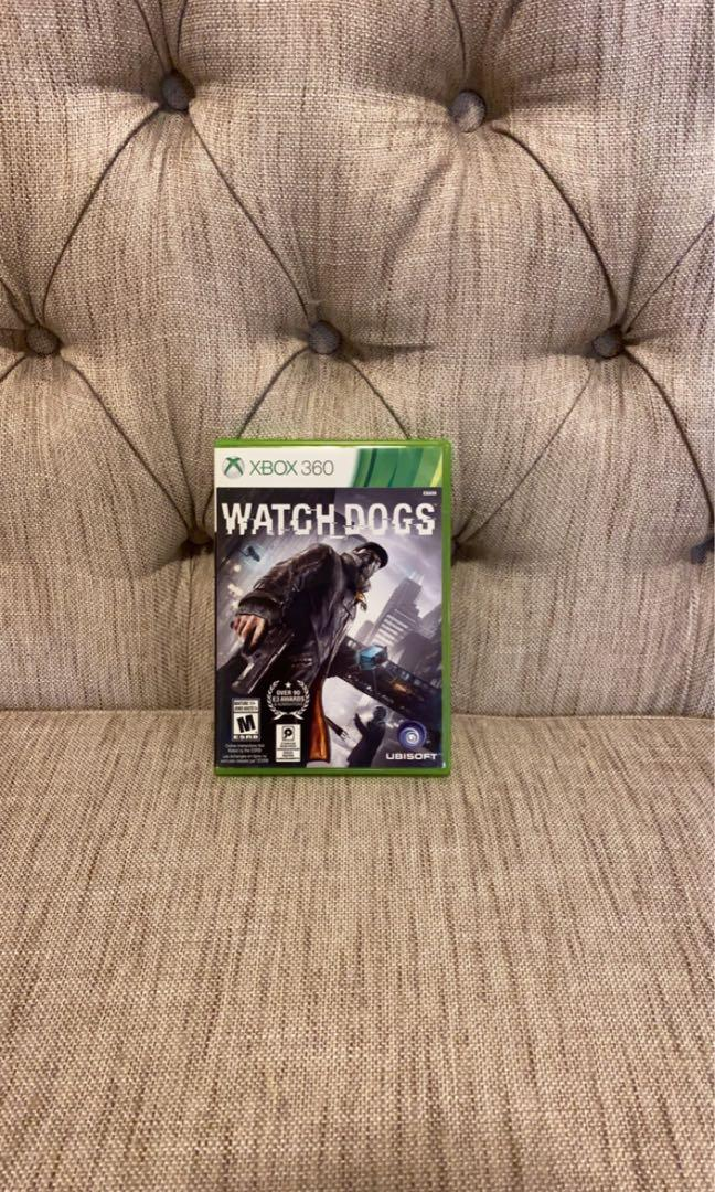 Watch dog for Xbox 360