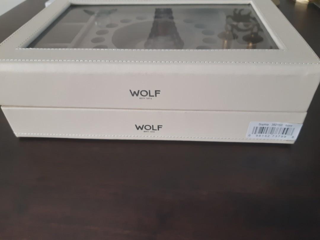 WOLF JEWELLERY BOX HOLDER