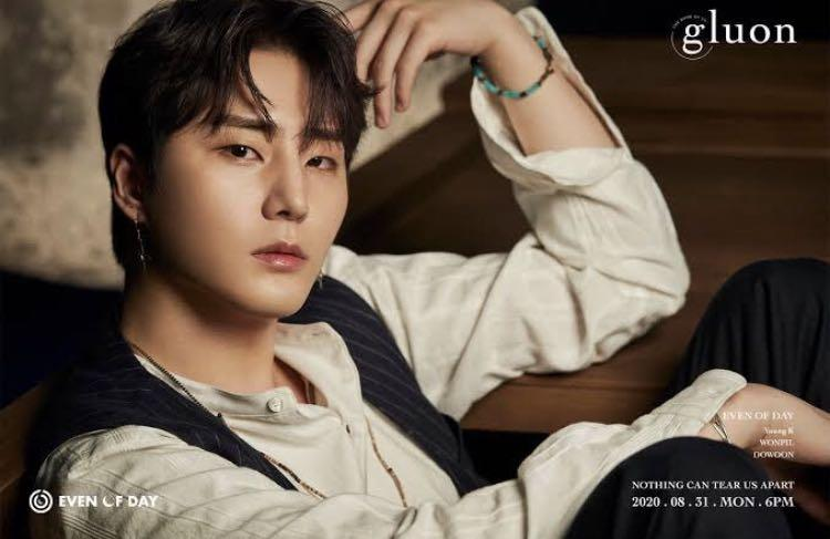 Young K Official Poster Day6 Even of Day The Book of Us: Gluon