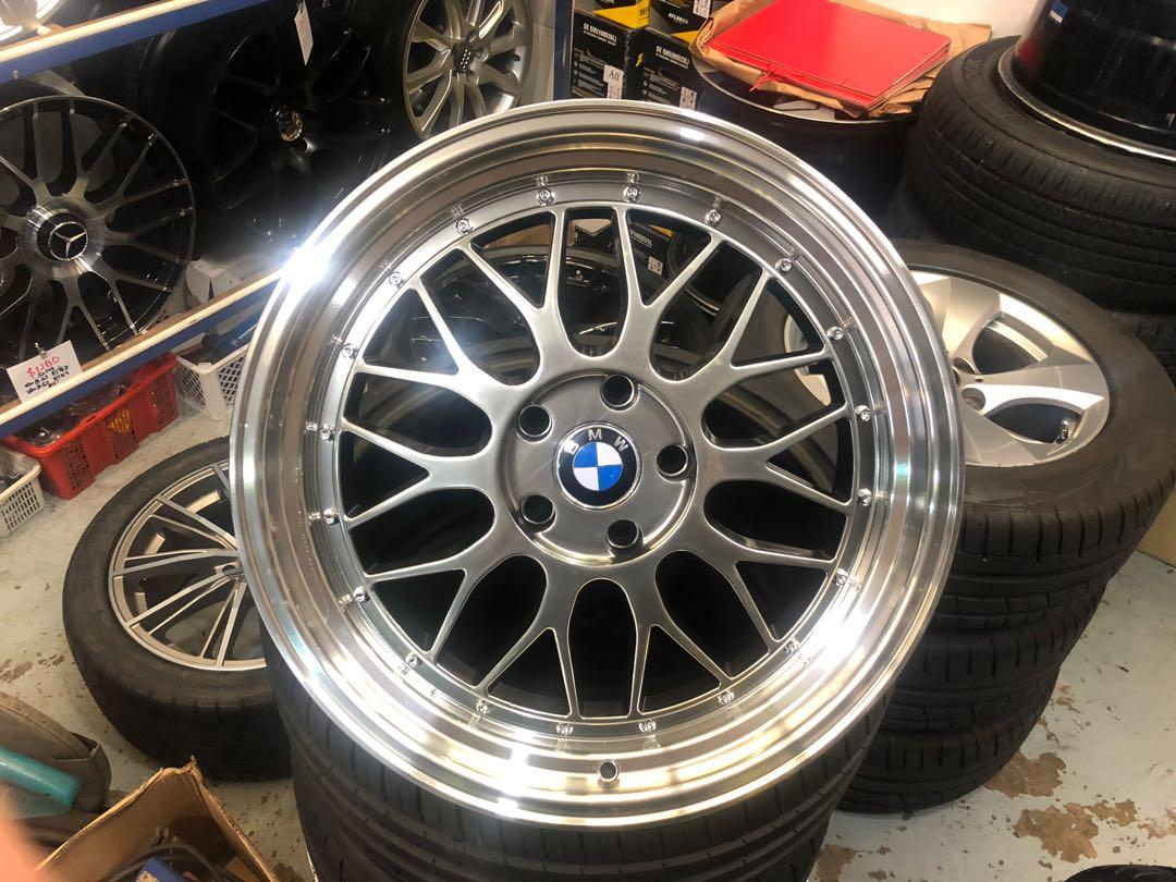 19 Bmw Deep Dish Staggered Rim Car Accessories Tyres Rims On Carousell