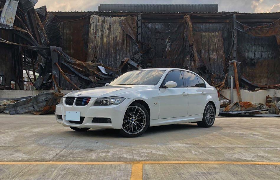 免頭款 強力過件06年 BMW E90 325I 白 M版 全額貸 超額貸 車換車