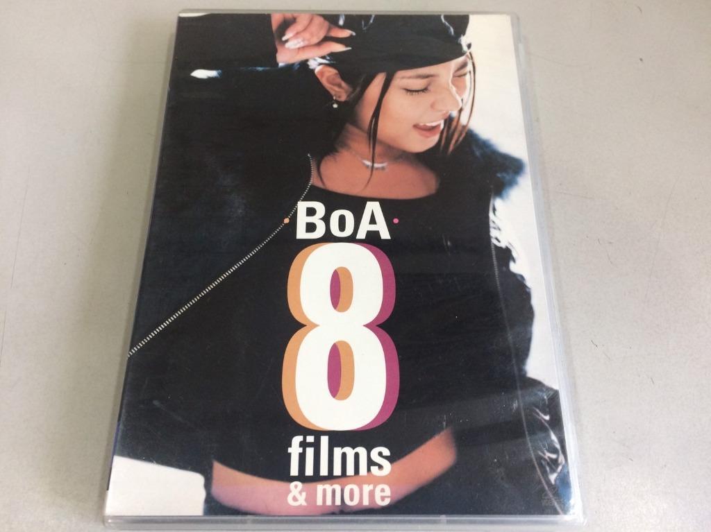 「環大回收」♻二手 VCD 早期 絕版 限量【寶兒 BoA 8 Films More】正版 影音光碟 電視影視 請先詢問