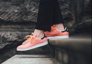 Adidas Stan Smith Canvas Salmon (Pink / Orange)