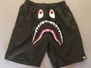 Bape ape 鯊魚 海灘褲