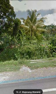 Dijual Tanah Pinggir Jalan Wanareja majenang  Cilacap