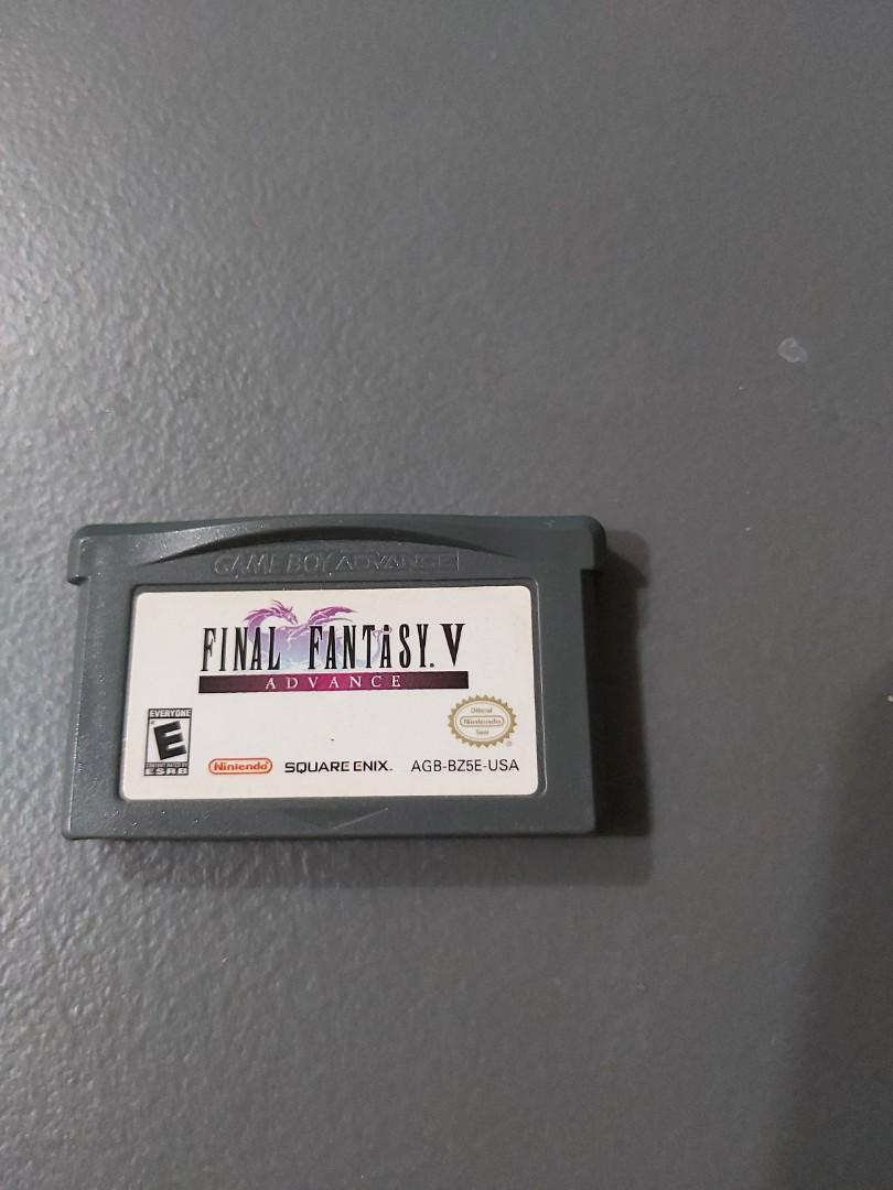 Gameboy advance final fantasy v