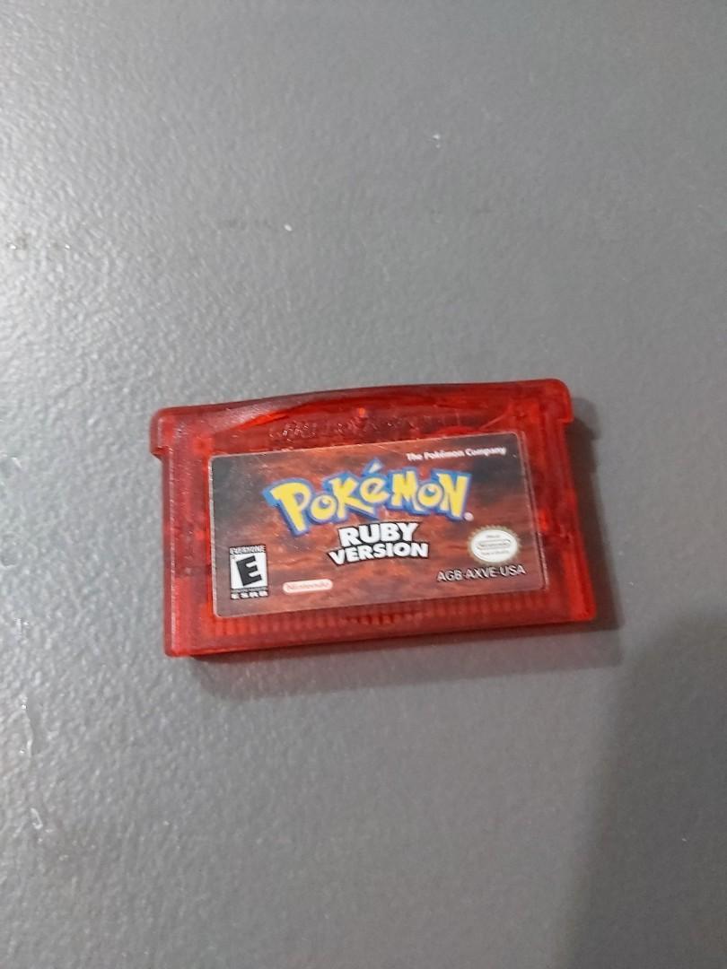 Gameboy advance pokemon ruby