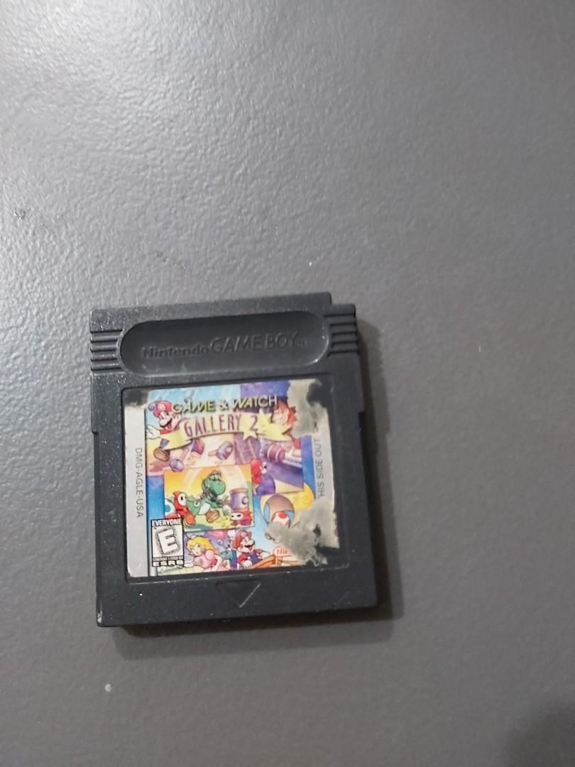 Gameboy color game and watch gallery 2