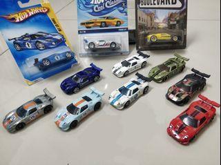 Hot Wheels Ford GT LM - Lot 11 pcs