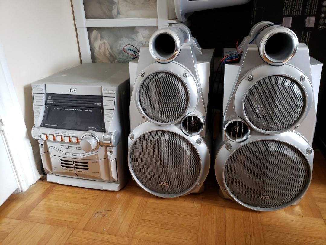 JVC-MX GB6 Audio Speaker System
