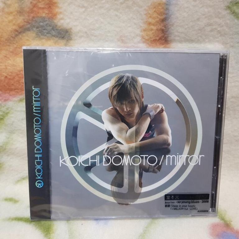 堂本光一(KINKI KIDS 近畿小子)cd= Mirror(全新未拆封)