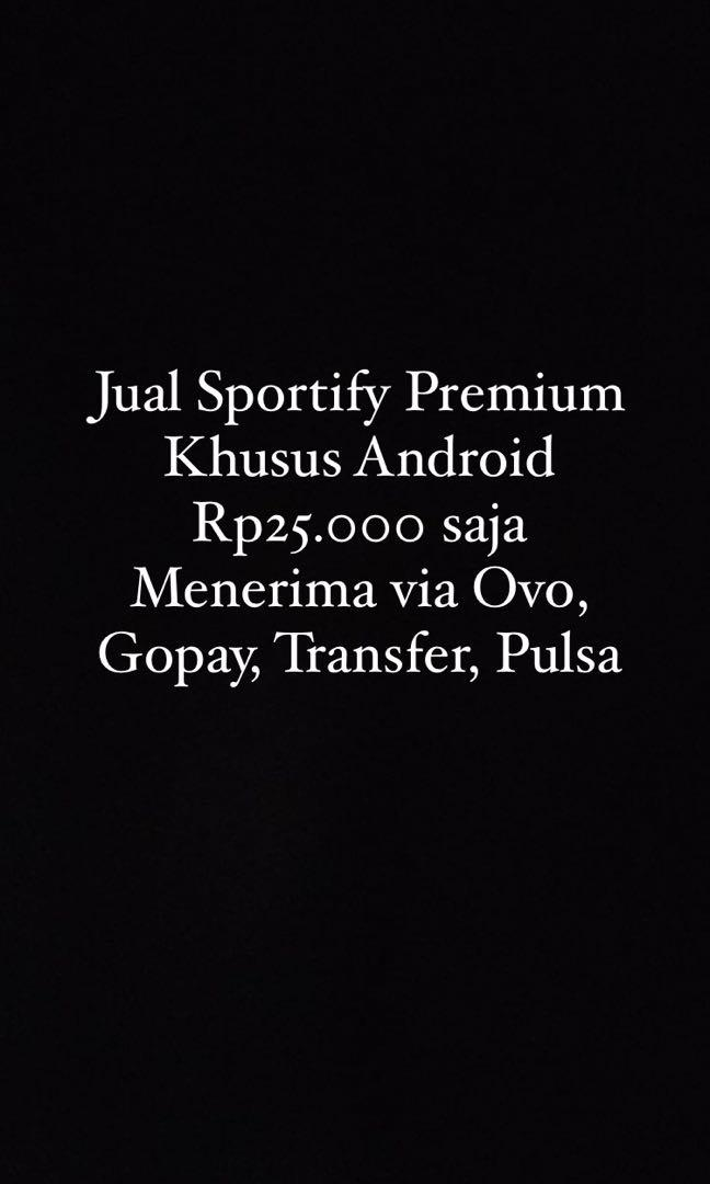 Sportify premium