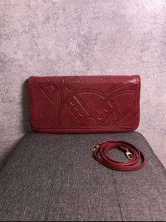 【♥ 琳琳私物 ♥】Vivienne Westwood ◌ 紅磚色斜背包