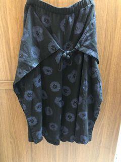 a la sha褲裙黑色~非常的好穿