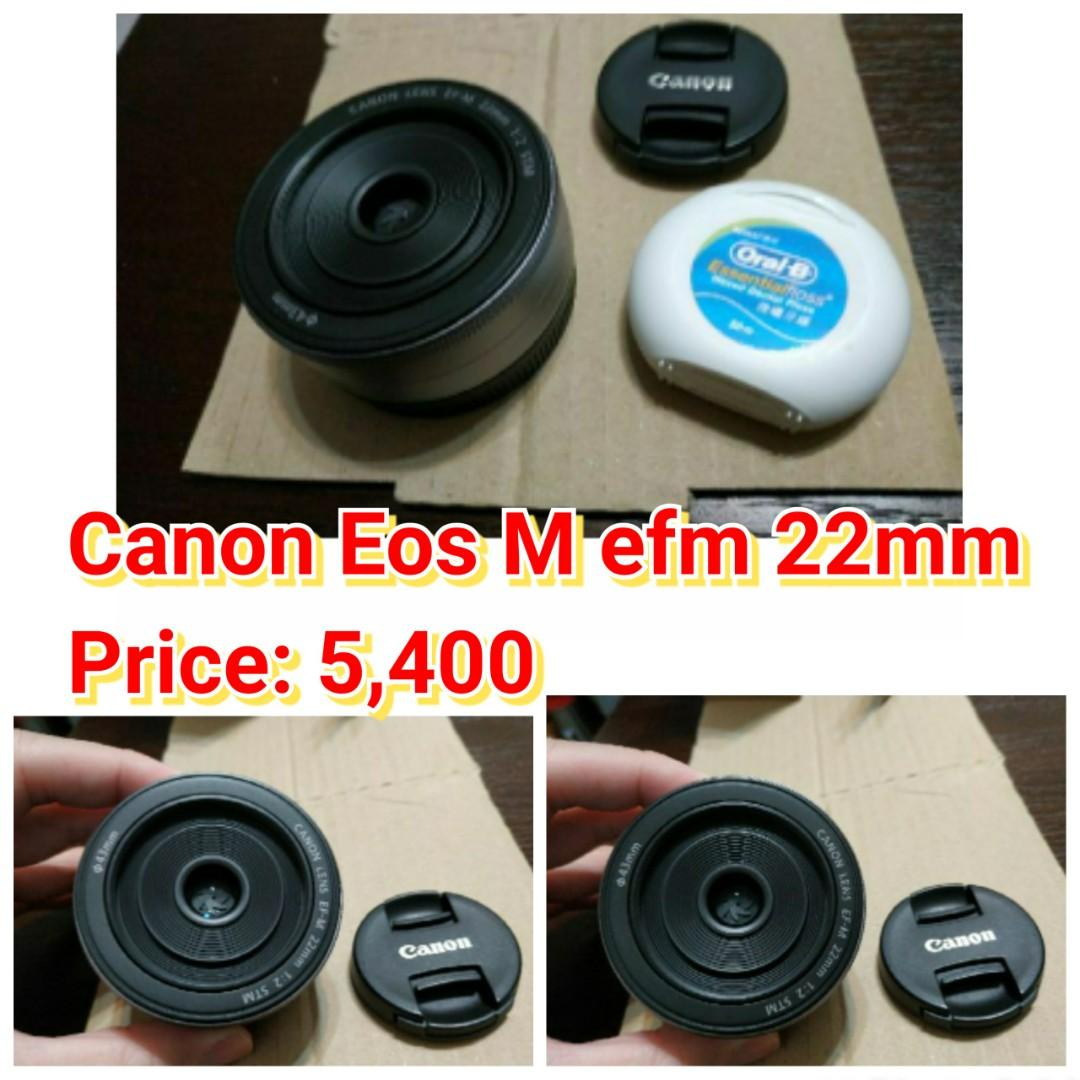 Canon Eos M efm 22mm