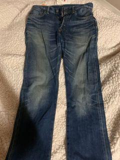 Levi's 501 全新絕版日本製 W29 L32(非古著、GU、JKS、uniqlo)牛仔褲