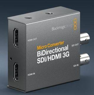 Micro Converter Bidirectional Sdi Hdmi 3g Blackmagic Design Photography Video Equipment On Carousell