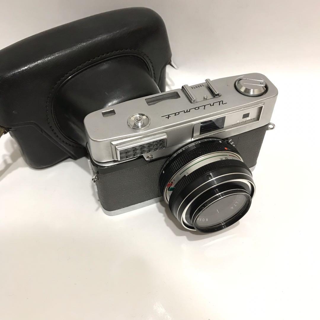 minolta uniomat II 手動對焦底片相機