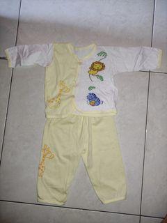 #novjajan Setelan Bayi Piyama Lengan Panjang Baju Baby