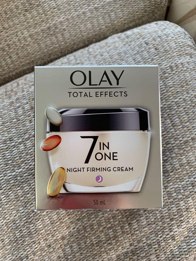 Olay total effect night firming cream