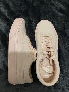 Pastel Pink Vans