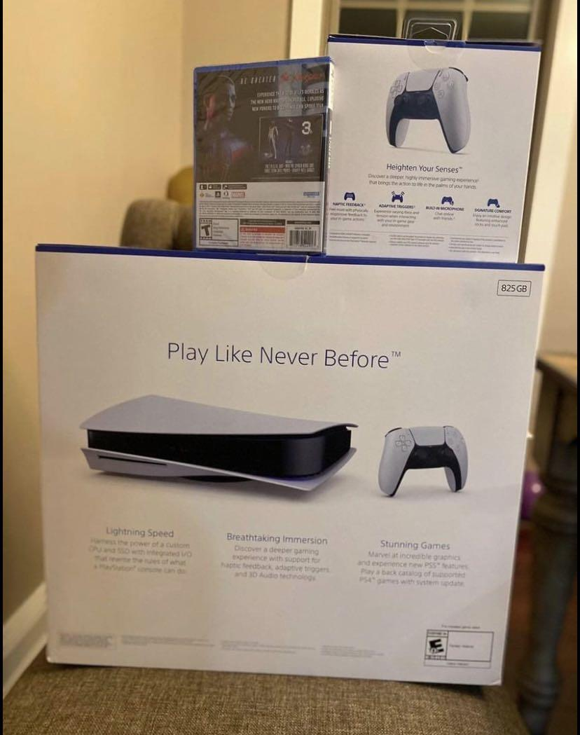 PS5 Disc Edition