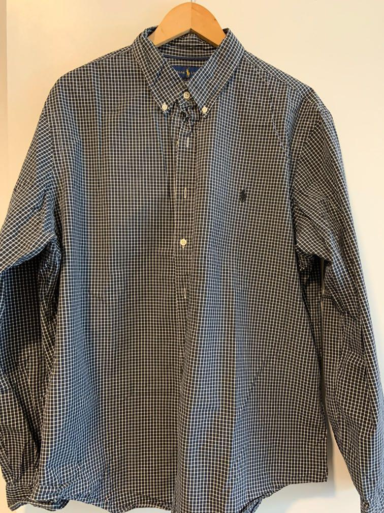 Ralph Lauren Button Down XXL Slim Fit