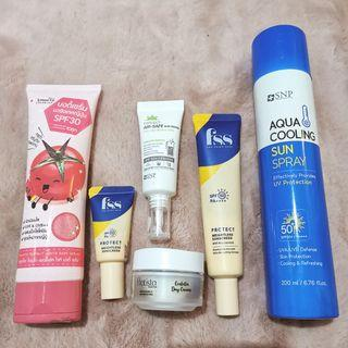 Sunscreen ( SNP, Pratista, Smooto)