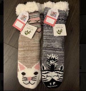 The original Muk Luks slippers socks