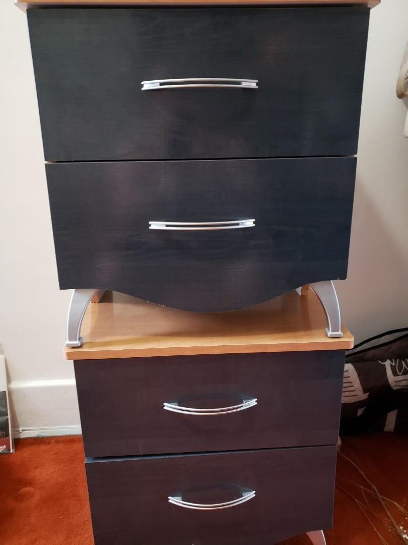 Two Double Drawers