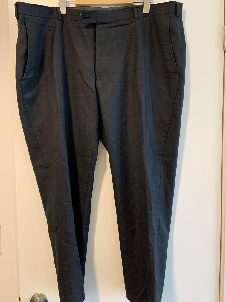 Zanetti Charcoal Dress Pants 42