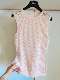 「台北101專櫃購入」粉嫩粉紅特殊針織上衣