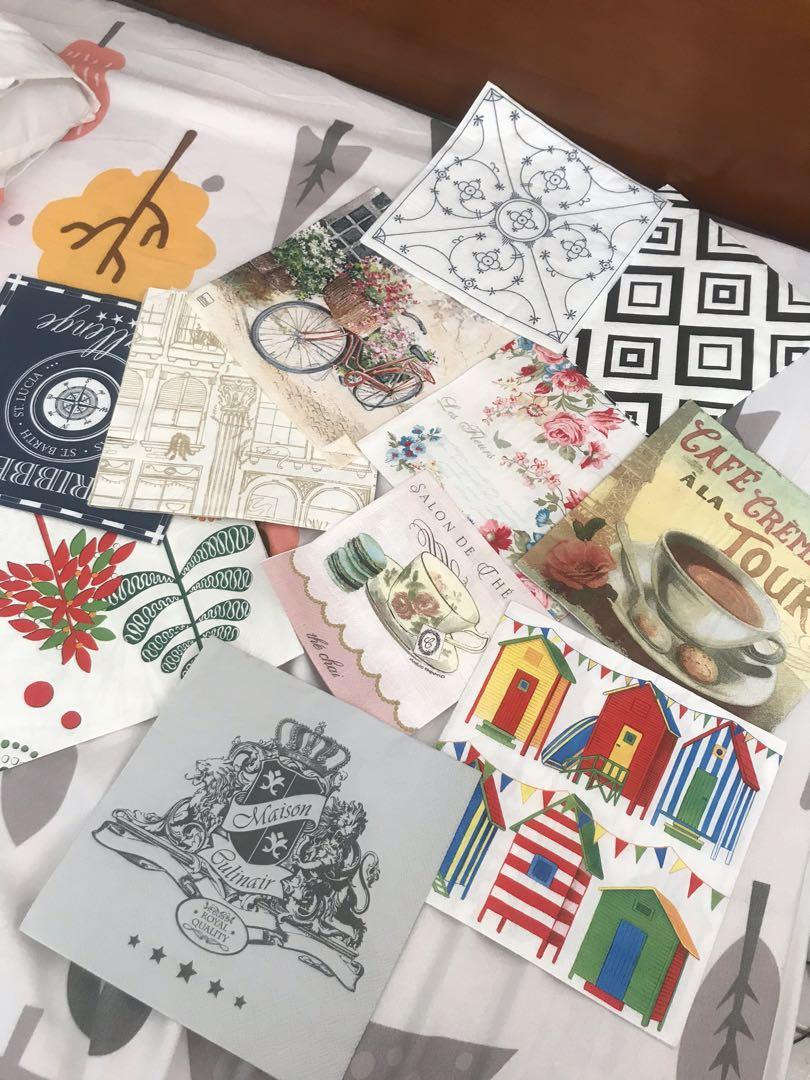 蝶古巴特餐巾紙(一袋)