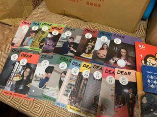 全新 阿滴 DEAR  英文雜誌 7~23期(書