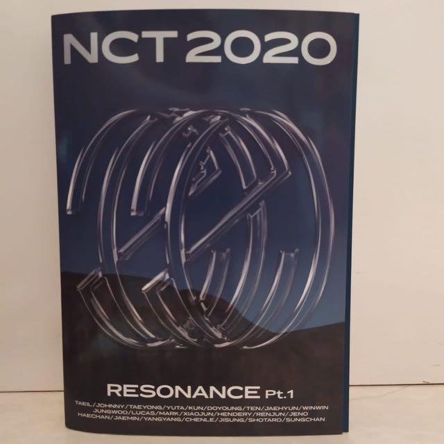 album nct 2020 resonance pt 1 past ver unsealed