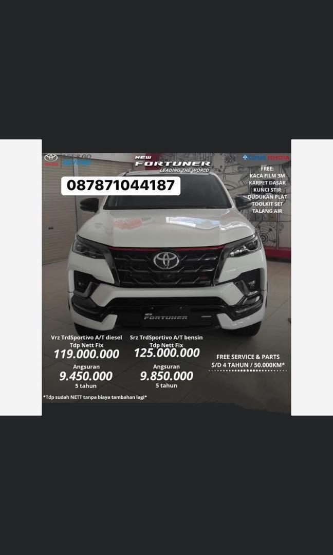 ALL NEW TOYOTA FORTUNER 2020