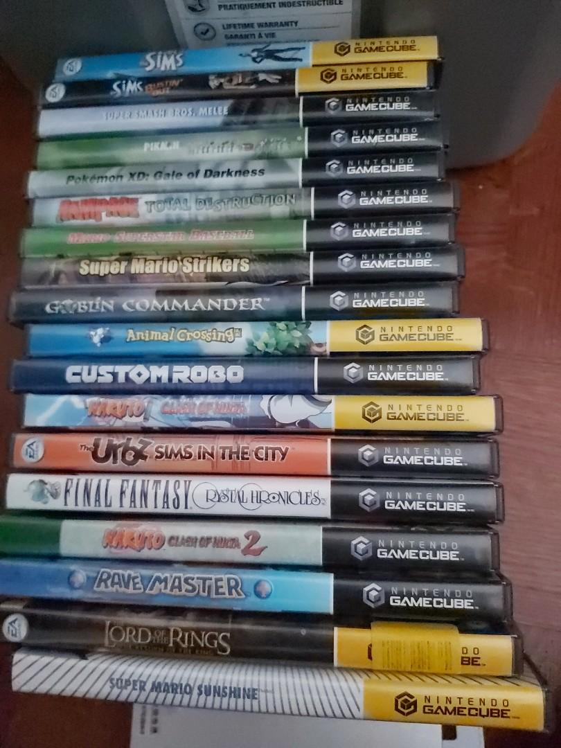 Assorted gamecube games $45 to $75