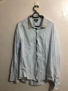 Authentic Zara Man Long sleeves Polo