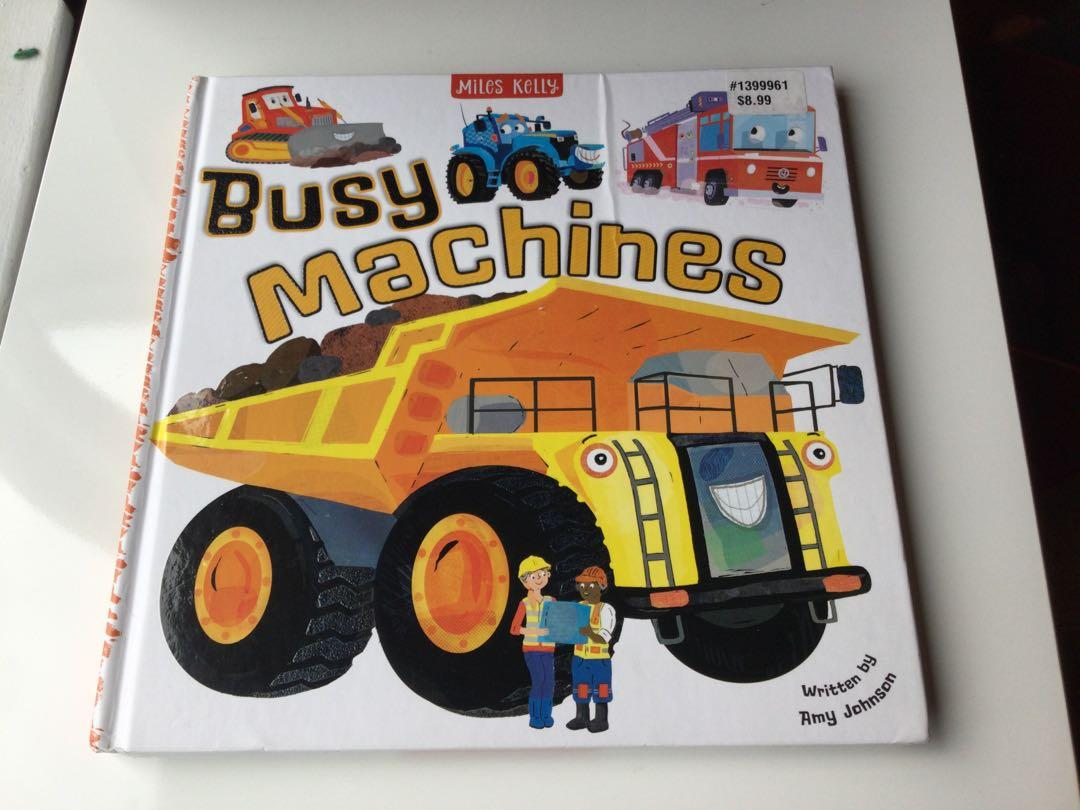 Busy Machines book-$7