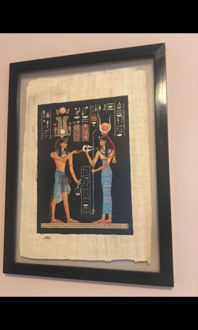 Egyptian Wall Decor