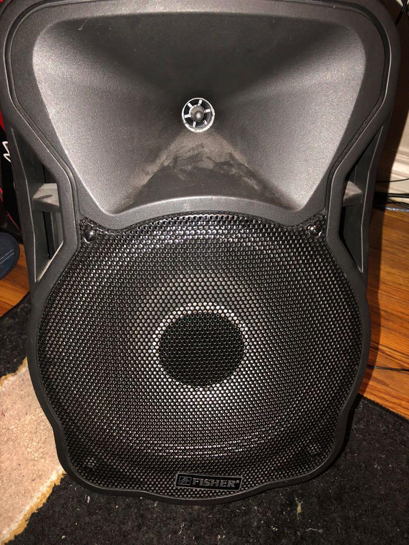 Fisher portable speaker