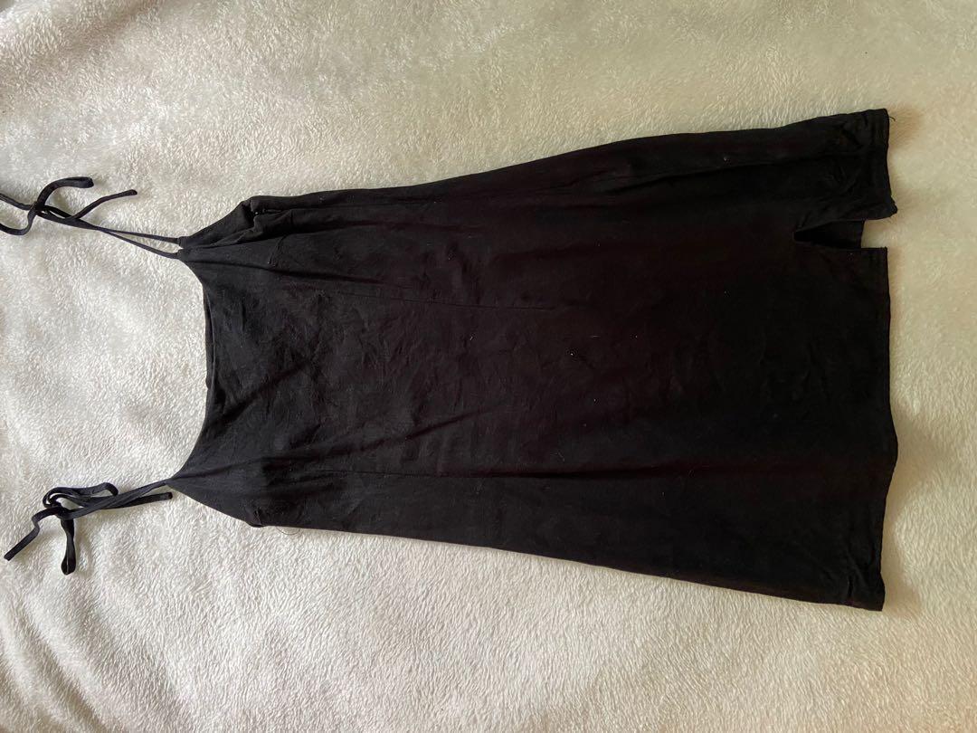 Glassons Cotton Black Mini Dress